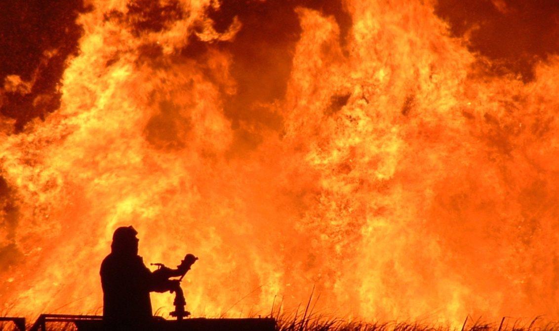 incendio azienda addetti